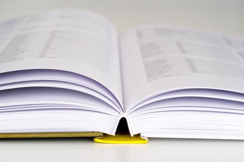 Proofreading of textbooks, one of the many media handled by Stephen York